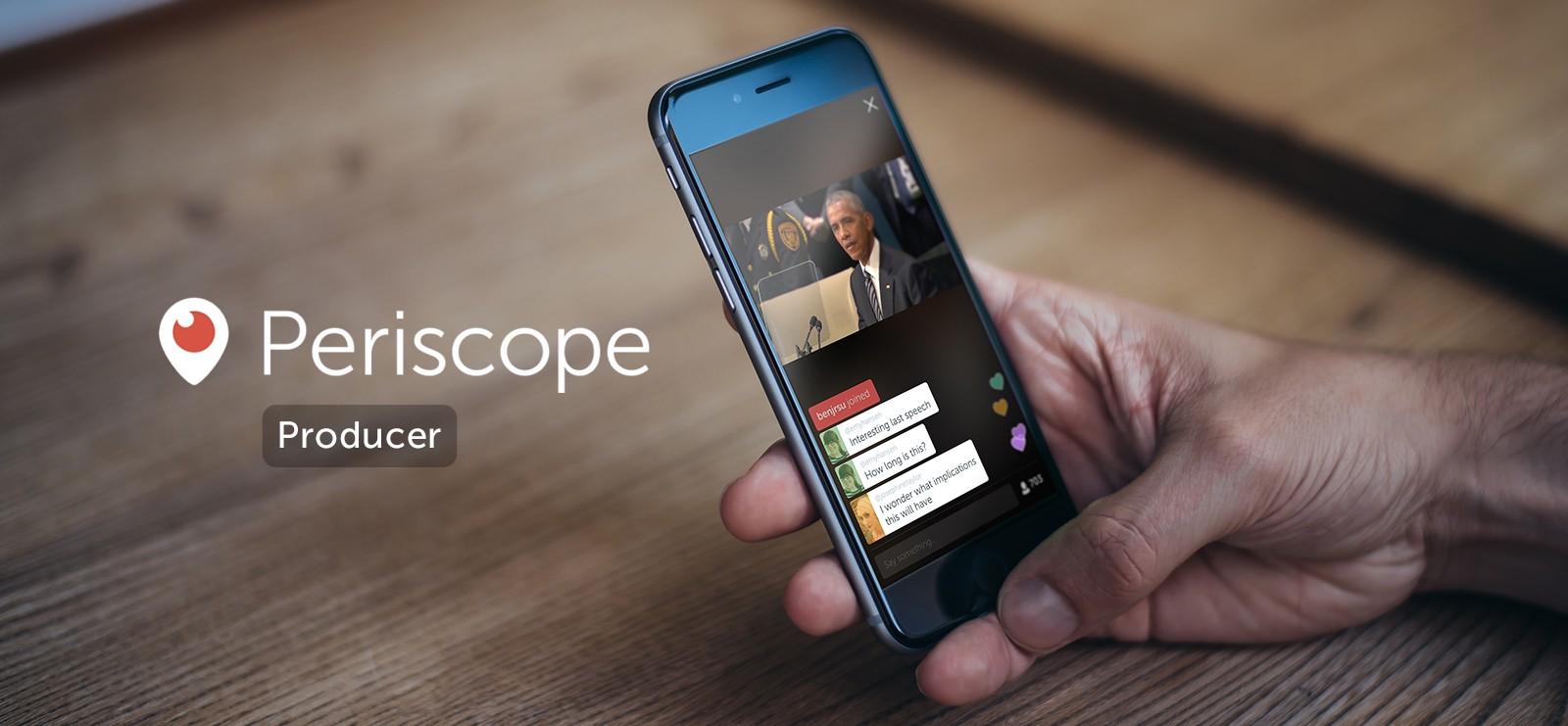 Periscope — помощник в живом общении