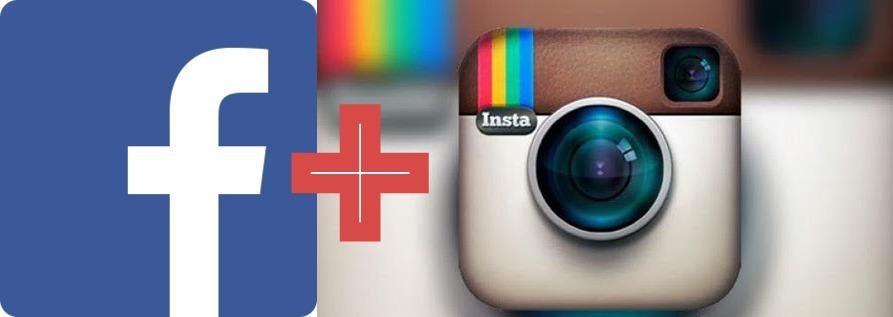 Привязка Instagram к Facebook