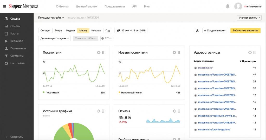 Яндекс.Метрика ввела упрощённую привязку статистики от Google