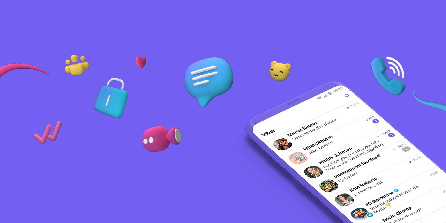Viber открыл возможность передавать файлы через сообщения