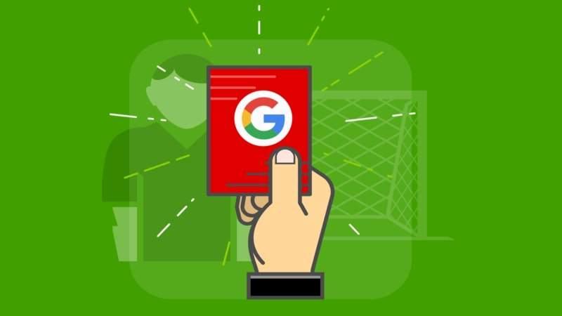 Google не вводит санкции за отсутствие логотипа, меню ссылок и футера на сайте