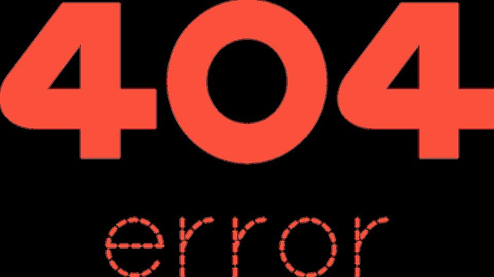 Правильно оформленная ссылка 404