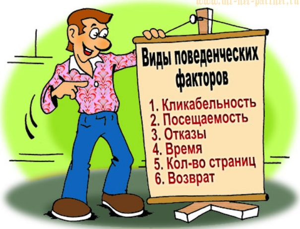 поведенческие факторы на сайт НогинскНолинск